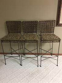 "3 BAR STOOLS 29"" from floor to seat"