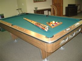 All Tech Pool Table Made in USA 8 foot slate