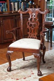 Maitland-Smith armchair