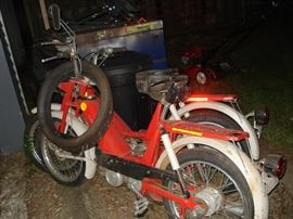 1970's Jawa Moped for parts or repair