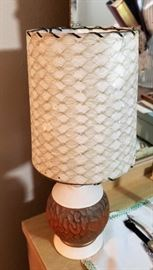 small vintage lamp