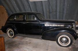 1938 Buick Special Sedan, All Original Survivor Car
