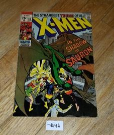 Vintage comic book.