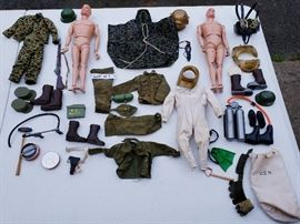 1964 Gi Joe collection.