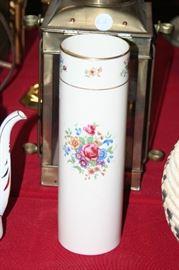 Lenox cylinder vase