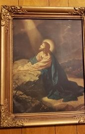 home decor christian jesus wall picture vintage