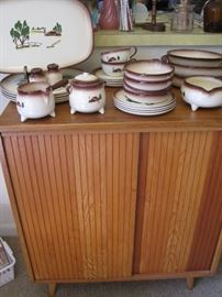 cabinet & Brock dishes