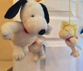 Vintage Snoopy and Woodstock mobile