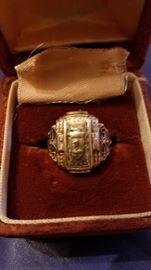 1954 class ring