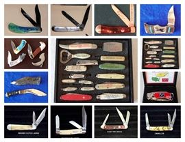 KNIVES, CASE XX, CUT CO, ADVERTISING, STAGHORN