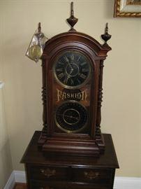 National Calendar Clock Company Fashion 4 Clock w/ Black Dial