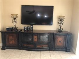 Very large TV unit with one extra piece