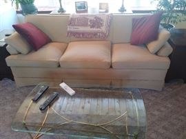 couch and coffee table