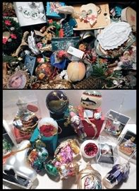 bab Christmas Ornaments including