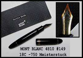MontBlanc Fountain Pen #149