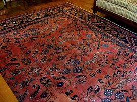 wonderful 11x17 1/2 hand tiedPersian rug