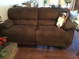 La-Z-boy Reclining sofa - only 2 years old!