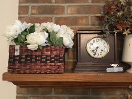 Home decor and clock