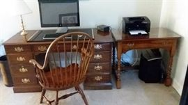 Stickley desks and chair