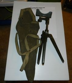 US Army M15 tripod w/carrying case