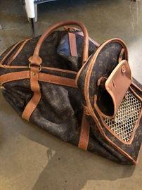 Louis Vuitton pet carrier
