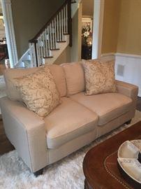 Sofa & area rug
