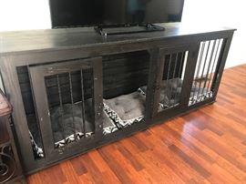 Custom made dog crate