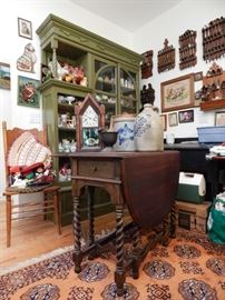 Massive groupings of antiques, furnishings, collectables