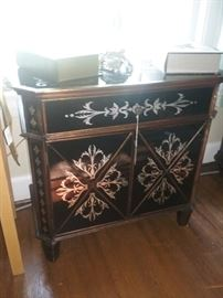 Asian Influence Inlaid Console
