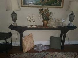 7ft Sofa Table