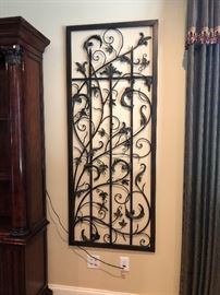 Wrought Iron Accent pieces