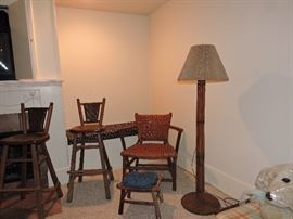 Old Hickory furniture marked Martinsville Indiana