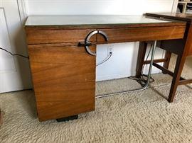 Gilbert Rohde for Herman Miller No. 3548 East Indian Laurel Desk c. 1935