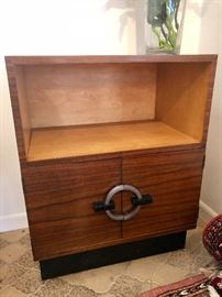 Gilbert Rohde for Herman Miller No. 3437 East Indian Laurel Utility Cabinet c. 1935
