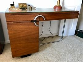 Gilbert Rohde for Herman Miller No. 3548 East Indian Laurel Desk c. 1935