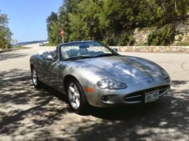 1998 Jaguar XK8, 2 Door Convertible 2+2