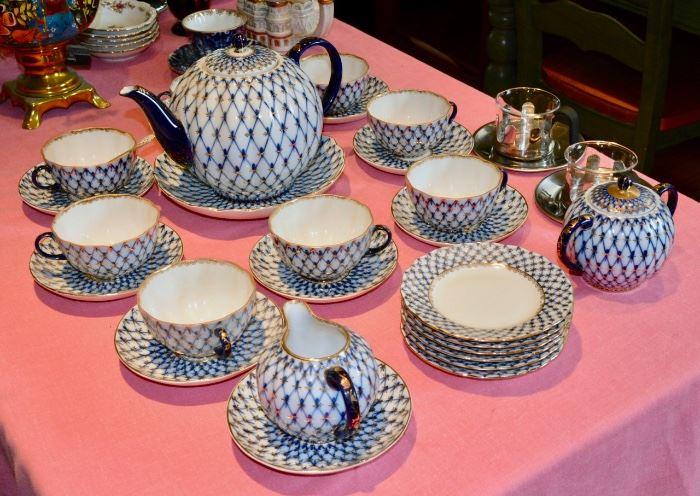 Russian Porcelain Set