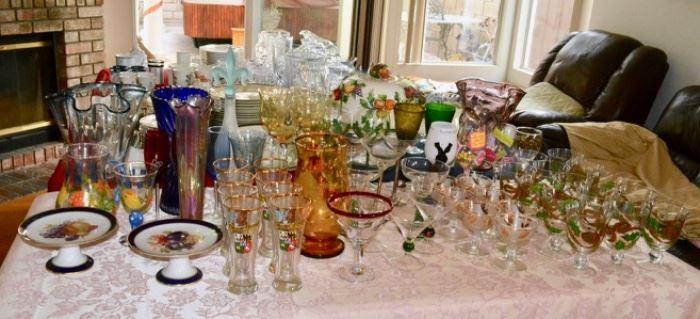 TABLES of Crystal - Ceramics
