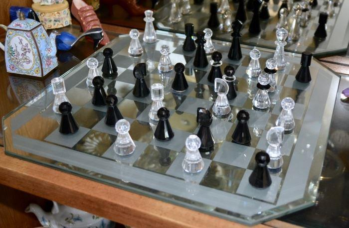 Swarovski Chess Set