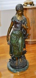 Moreau Bronze Sculpture