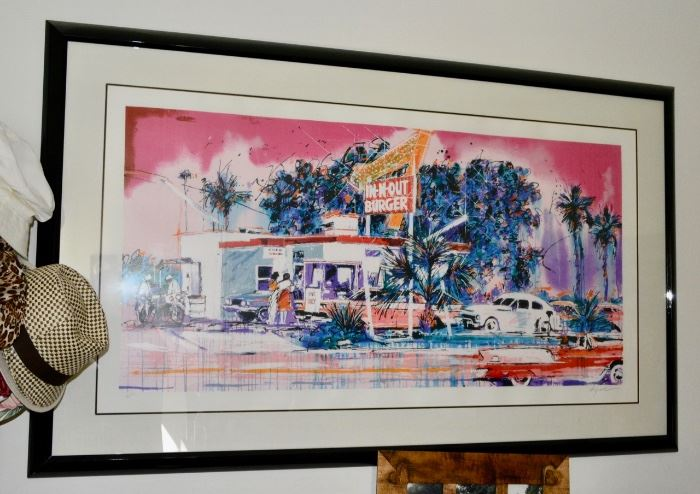 In N Out Lithograph