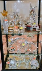 CASES full of Crystal - Waterford, Swarovski, MORE