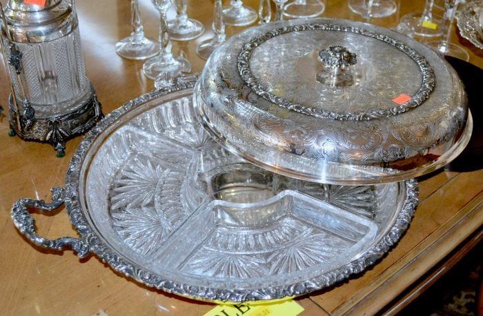 Victorian Silver Plate