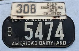 Large License Plate Collection