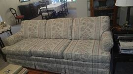 Beautiful sofa pet free smoke free home