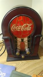 Coca cola electric radio