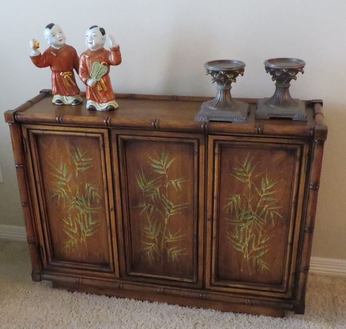 Asian style console