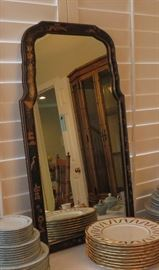 Vintage Friedman Brothers chinoserie mirror