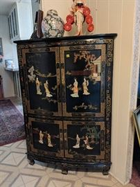 Corner Cabinet approx 4ft tall $350