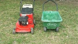 Harry Lawn Mower & Garden Cart